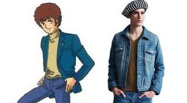 《机动战士高达》阿姆罗专用新春款男装上市