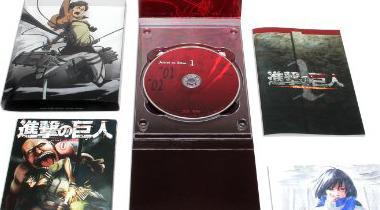 《进击的巨人》动画第1卷首周销量约5.7万枚