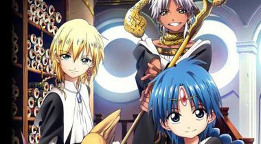 《魔笛MAGI》TV动画第二期将于10月6日开播