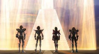《圣斗士星矢》新作CG电影2014年夏季上映