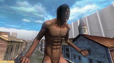 《进击的巨人》3DS游戏可操作巨人化艾伦