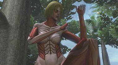 《进击的巨人》3DS游戏公开新PV 女巨人登场