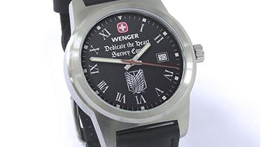 瑞士手表公司推出《进击的巨人》兵团限定表