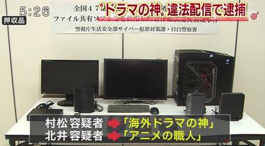 日本警方3日内逮捕27名非法动漫游戏上传者