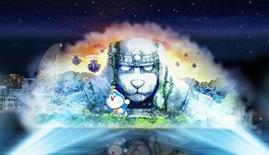 """《哆啦A梦》剧中""""巨神像""""将于横滨红砖墙仓库现身"""