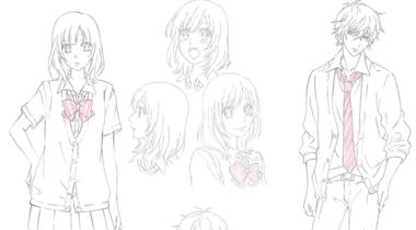 动画《狼少女和黑王子》公开制作团队名单以及人物设定画