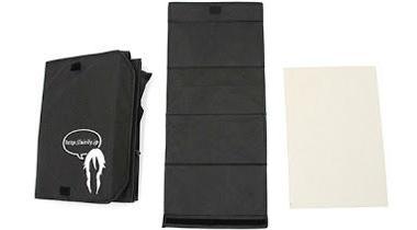 日本推出能把假发拿着走的方便手提包!
