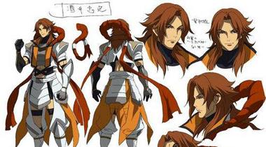 《战国BASARA Judge End》动画原创角色由西川贵教担当配音